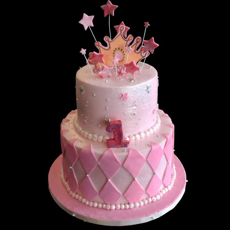 Images Of Cake For First Birthday : Princess First Birthday Cake