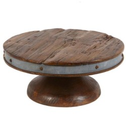 Reclaimed Wood Cake Stand