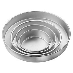 Round Cake Pan 4 Piece Set