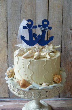 Wedding With Anchors