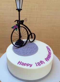 18th Anniversary Cake