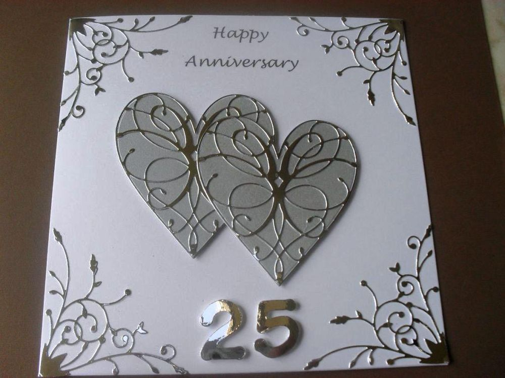 Cake Ideas For Parents Anniversary : 25th Wedding Anniversary Cake
