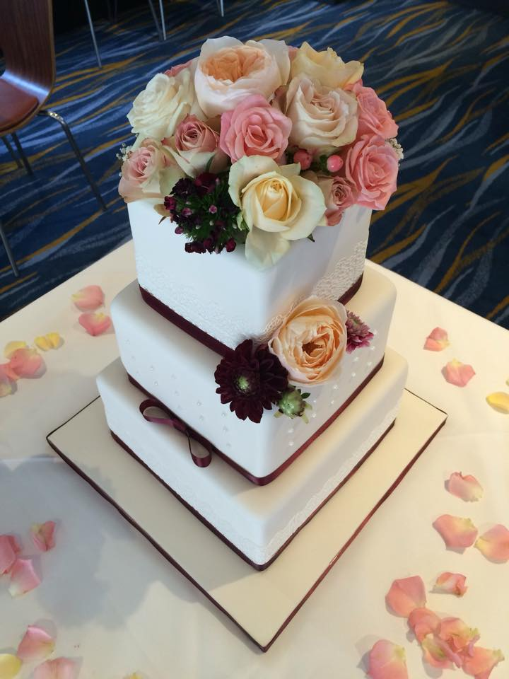 Sugar Free Wedding Cake