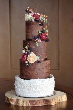 4 Tiers Chocolate Cake