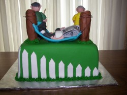 Awesome Fathers Day Cake