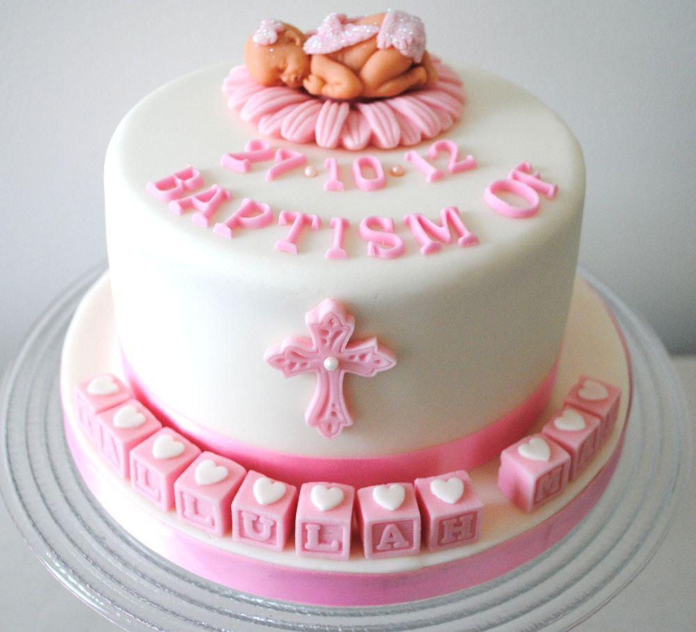 Baby Christening Cake Images : Baptism Cake