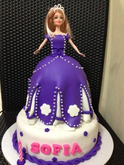 Barbie Cake for Sofia