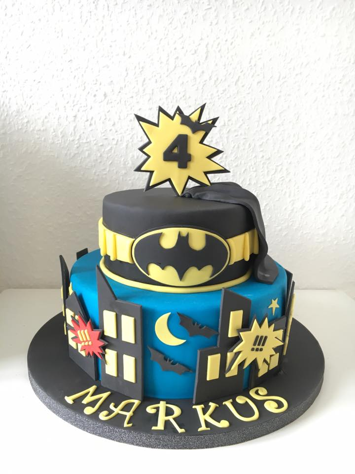 Batman Birthday Party Cake Ideas and Designs