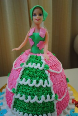 Birthday Barbie Cake