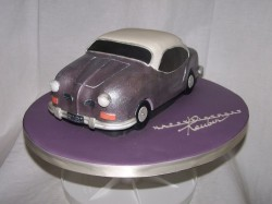 Birthday Cake Car