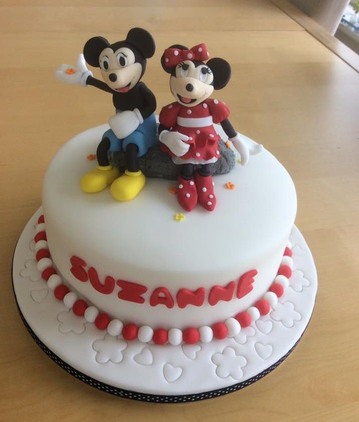 Birthday Cake With Mickey Mouse