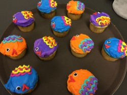 Birthday Cupcakes – Fishes