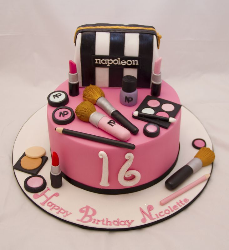 makeup birthday cake birthday makeup cake 5660