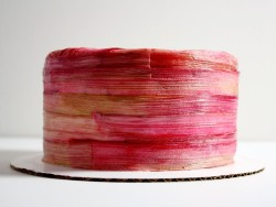 Birthday Rhubarb Cake