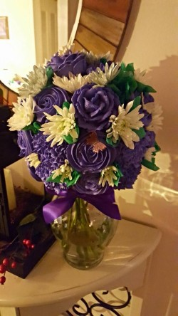 Bouquets for a 50th Birthday Party