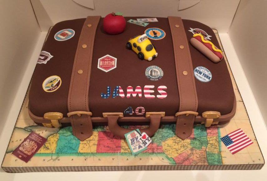 Birthday Cake Suitcase