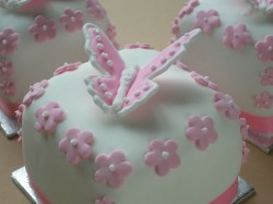 Cake with Nice Butterfly