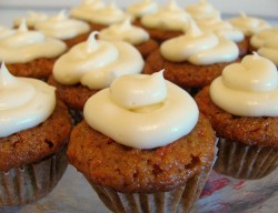 Carrot Cakes Cupcakes