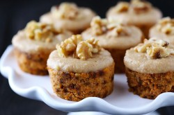 Carrot Nuts Cupcakes