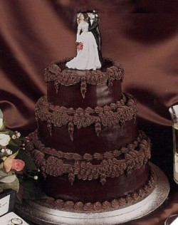 Chocloate Wedding Caked