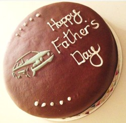 Chocolate Fathers Days Cake