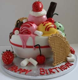 Creative Birthday Cake – Ice Cream