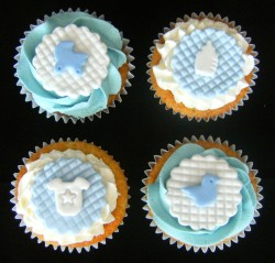 Cupcakes for Christening