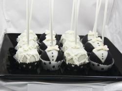 Cute Wedding Cake Pops