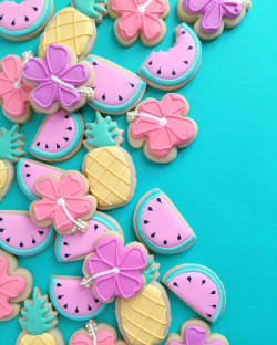 Designer sugar cookies