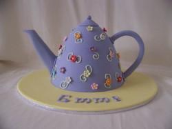 Elegant Teapot Cake
