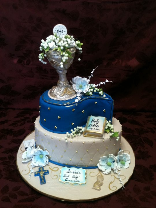Huge Communion Cake