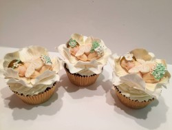 Lovely Christening Cupcakes
