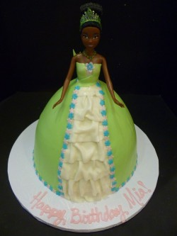 Mia Birthday Barbie Cake