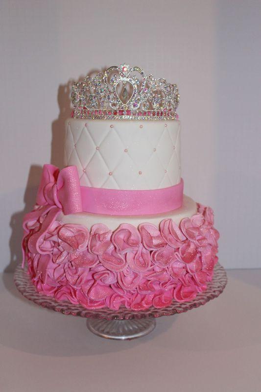 Cake Images Princess : Pink Princess Cake