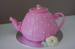 Pink Teapot cake