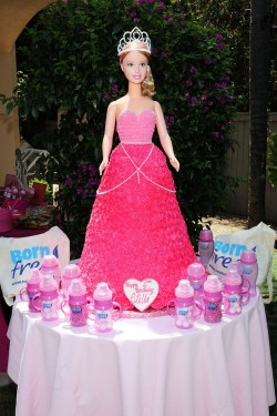 Princess Barbie Cake