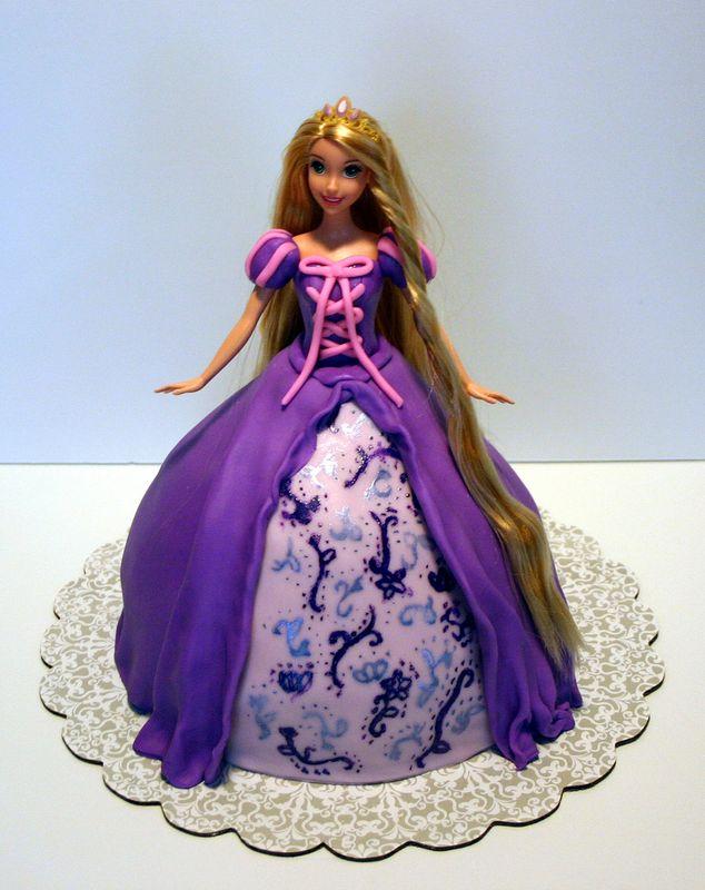 Cakes Purple Color