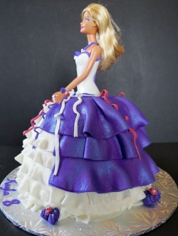 Purple Birthday Cake Barbie