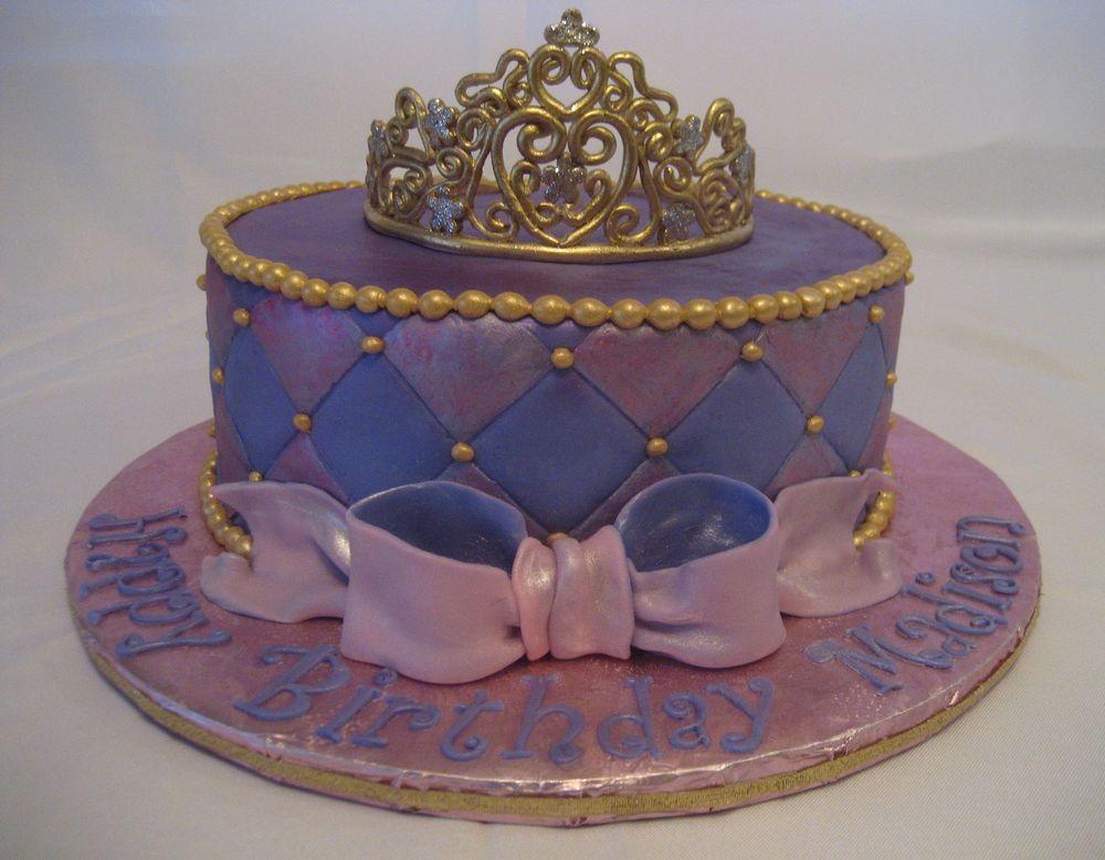 Purple Birthday Cakes For Girls