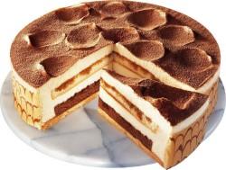 Round Tiramisu Cake