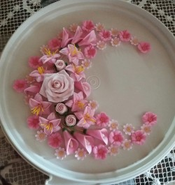 Sugar Flowers for Cake
