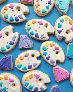 Sugar cookies – paint palette