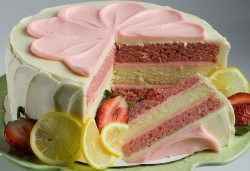 Tasty Strawberry cake