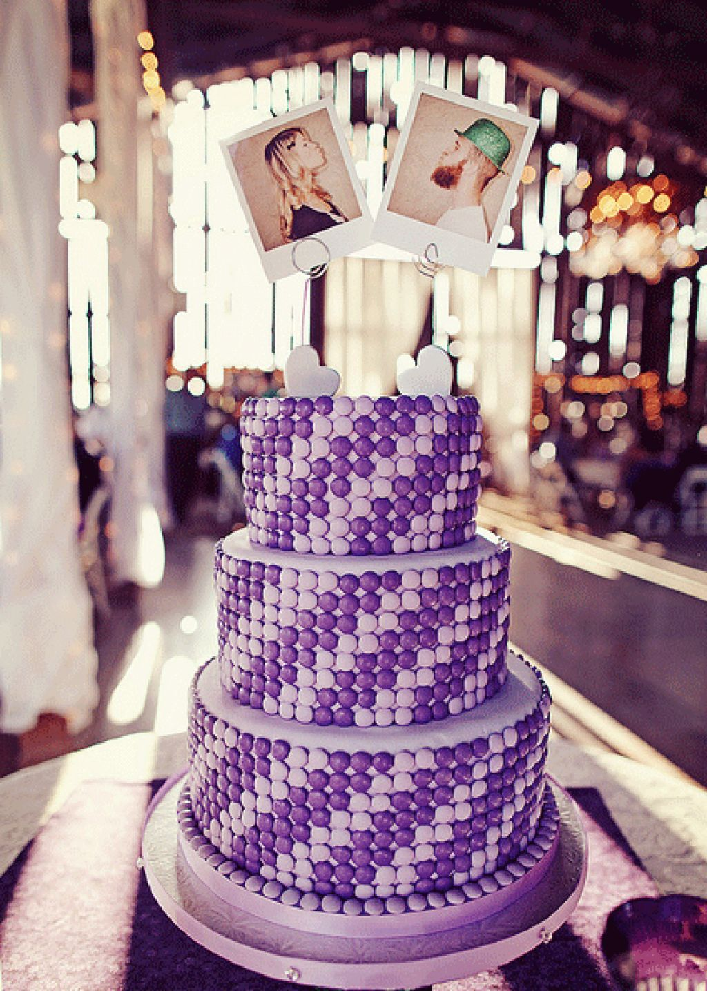 Unique Wedding Cake Idea