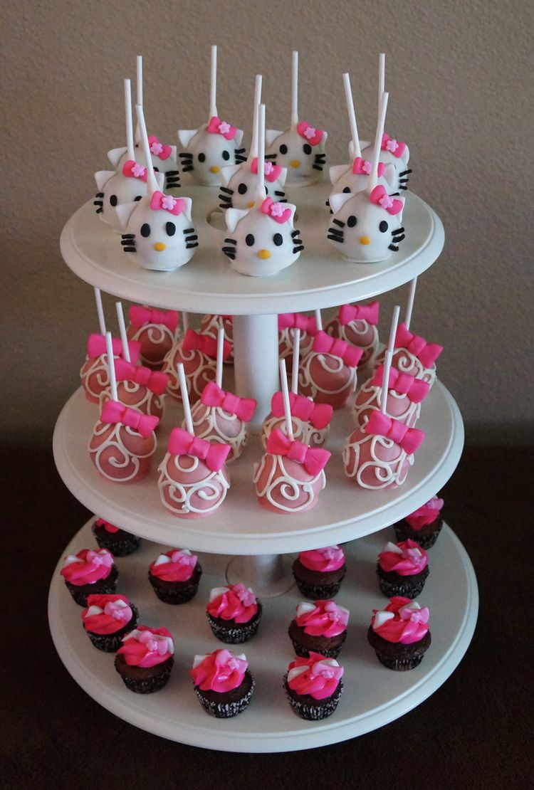 Wedding Cake Pops Tower