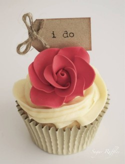 Wedding Cupcake – I Do