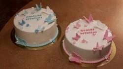2 Christening Cakes