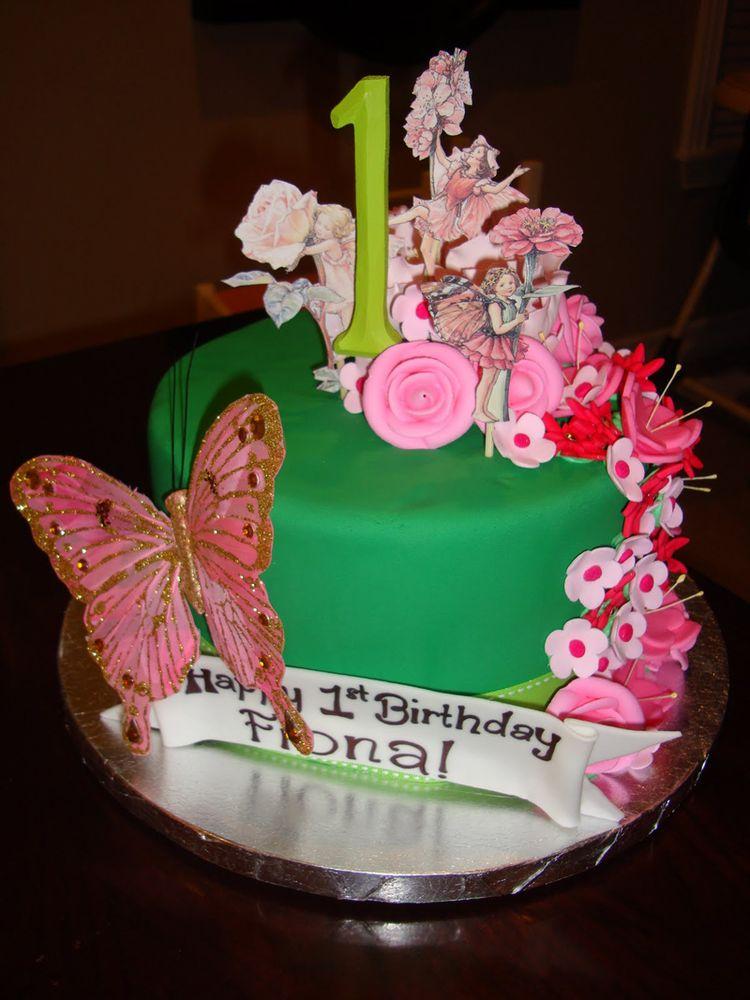 Amazing Birthday Cake With Fairy