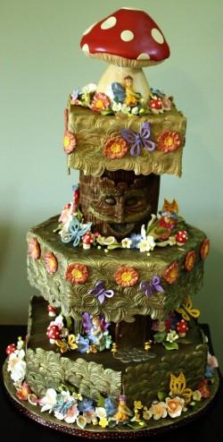 Amazing Fondant Fairy Cake