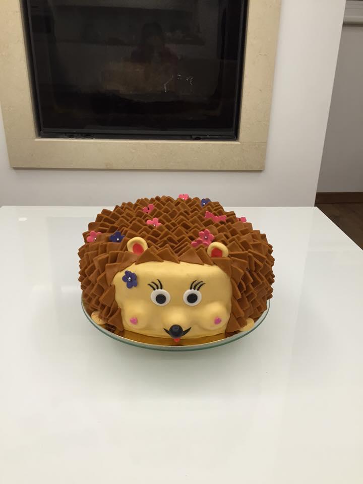 Hedgehog Cake Decorations